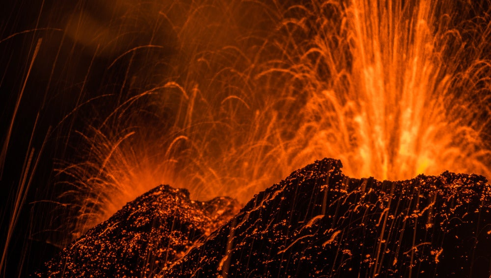 El volcán Pitón