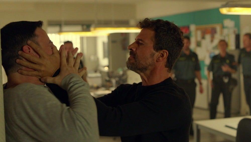 Héctor se enfrenta a Pablo tras la muerte de Marta