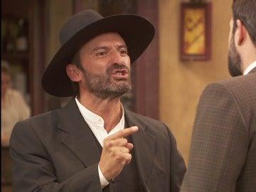 Leoncio se ha enterado de la demanda de Los Santacruz