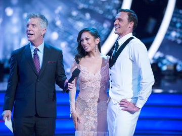 Ryan Lochte durante su actuación en el programa 'Dancing with the Stars'