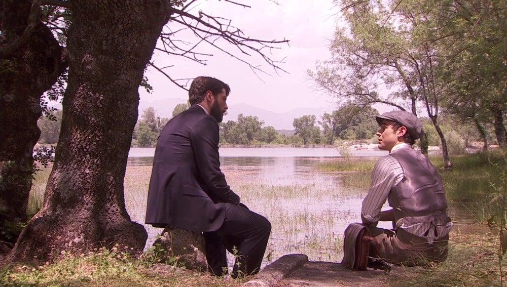 Hernando y Matías tras la detención