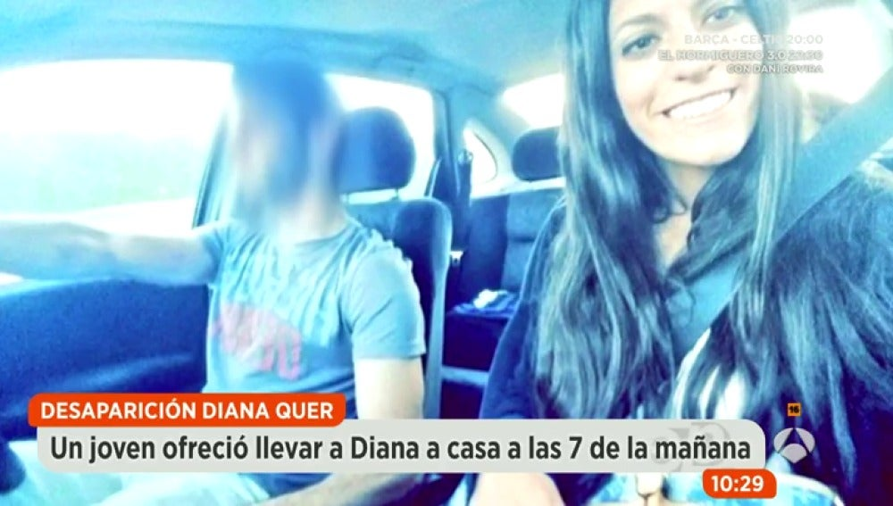 Antena 3 tv diana quer podr a haberse subido al coche de for Espejo publico diana quer