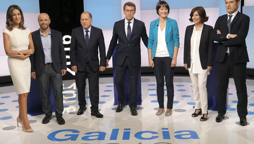 Debate electoral para las autonómicas gallegas