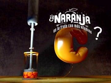 ¿La naranja es la fruta con más vitamina C?