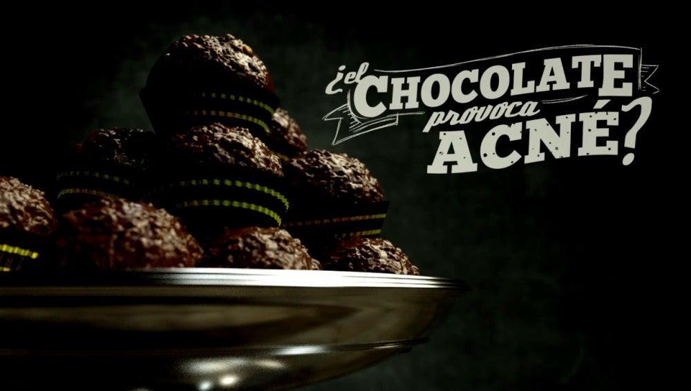¿El chocolate provoca acné?
