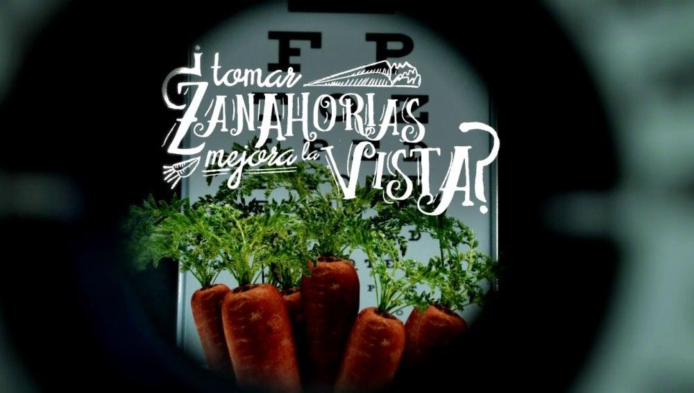 ¿Tomar zanahorias mejora la vista?
