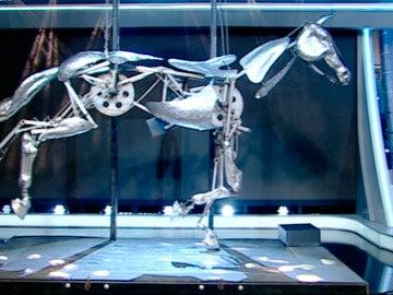 Así es el primer caballo robot, capaz de trotar como si fuera de carne y hueso