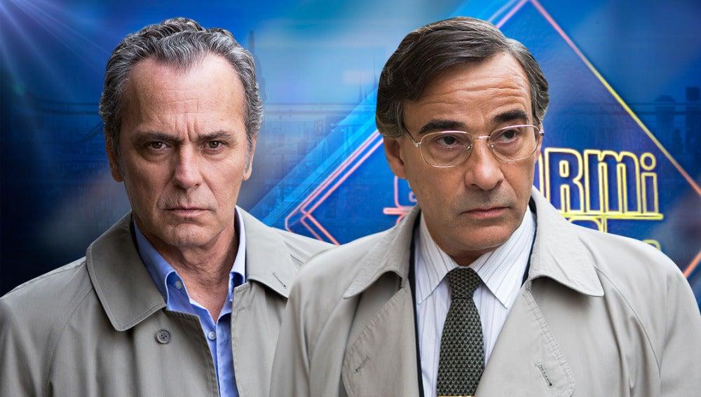 José Coronado y Eduardo Fernández en 'El Hormiguero 3.0'