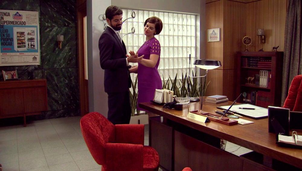 Marta sigue mintiendo a su prometido