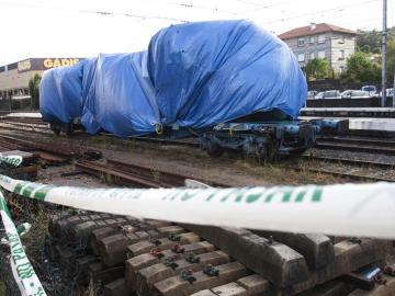 Una semana después del accidente ferroviario de O Porriño