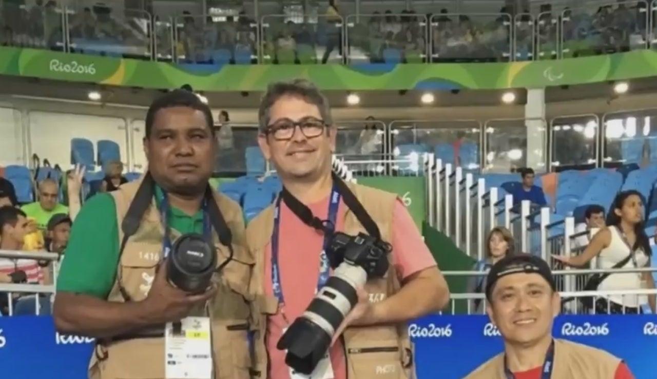 João Maia, el primer fotógrafo ciego en cubrir unos Juegos Paralímpicos
