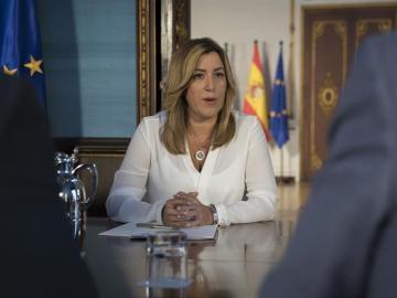 La presidenta andaluza y secretaria general del PSOE andaluz