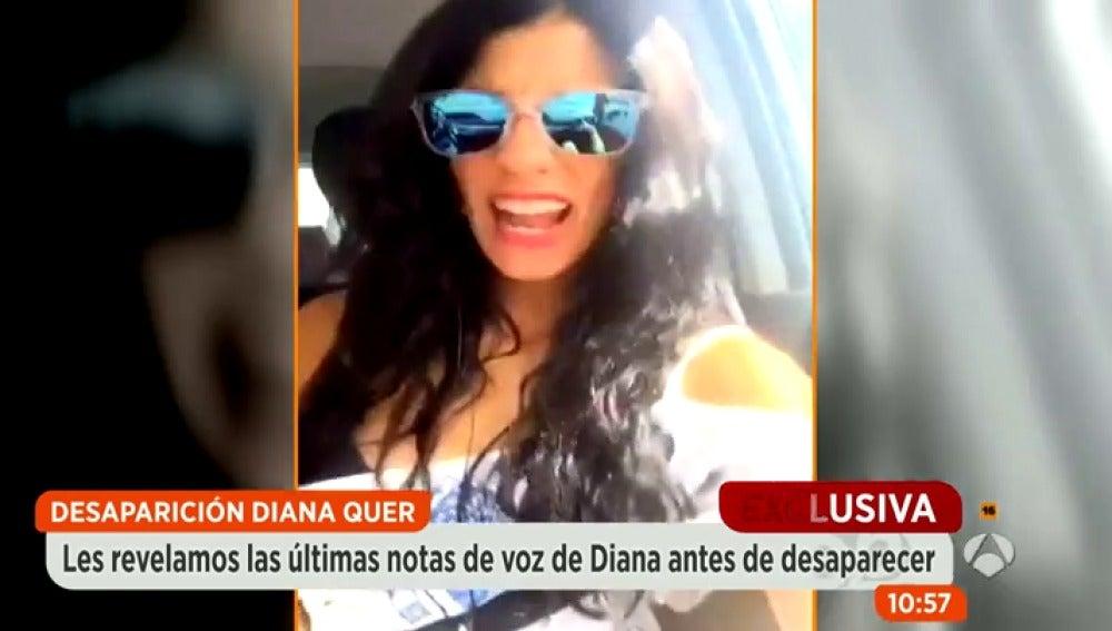 Antena 3 tv la ltima nota de voz que grab diana quer for Espejo publico diana quer