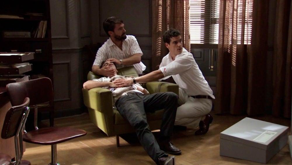 ¿Por qué hay un herido en el despacho de Rafael?
