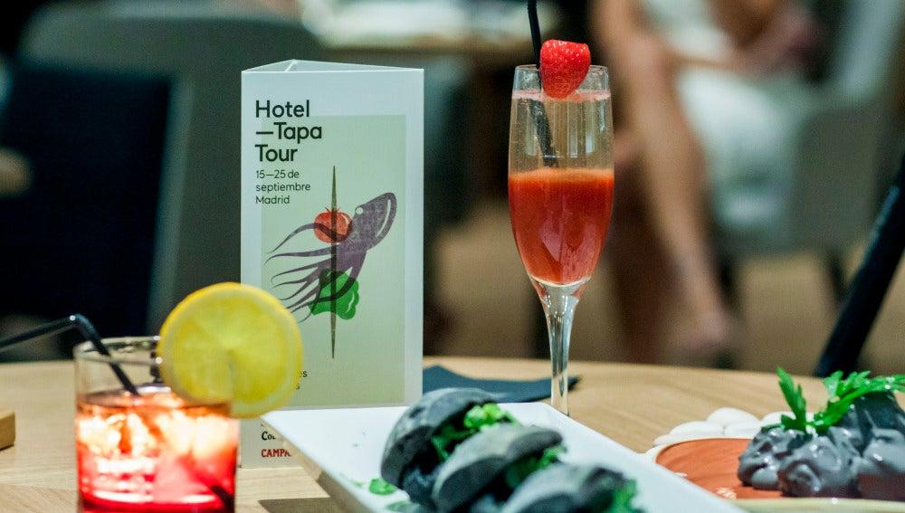 Tapa y bebida en un hotelazo. Buen plan, ¿no?