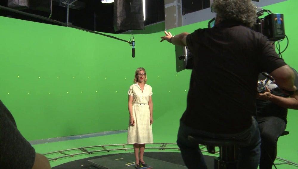 El making of de las promos de la última temporada de 'Velvet'