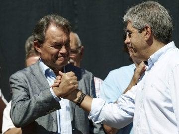 Artur Mas y Francesc Homs