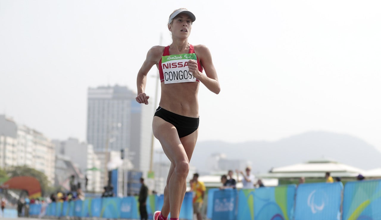 Elena Congost, oro en maratón T12 de los Juegos Paralímpicos de Río