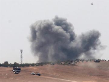 Ataque de la coalición en Siria