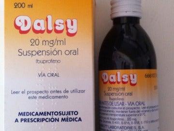 Imagen del medicamento para niños Dalsy