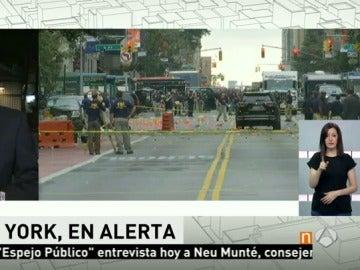 Registrada una explosión controlada en Nueva Jersey