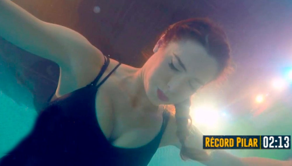 ¿Puede aguantar Pilar Rubio más de dos minutos sin respirar bajo el agua?