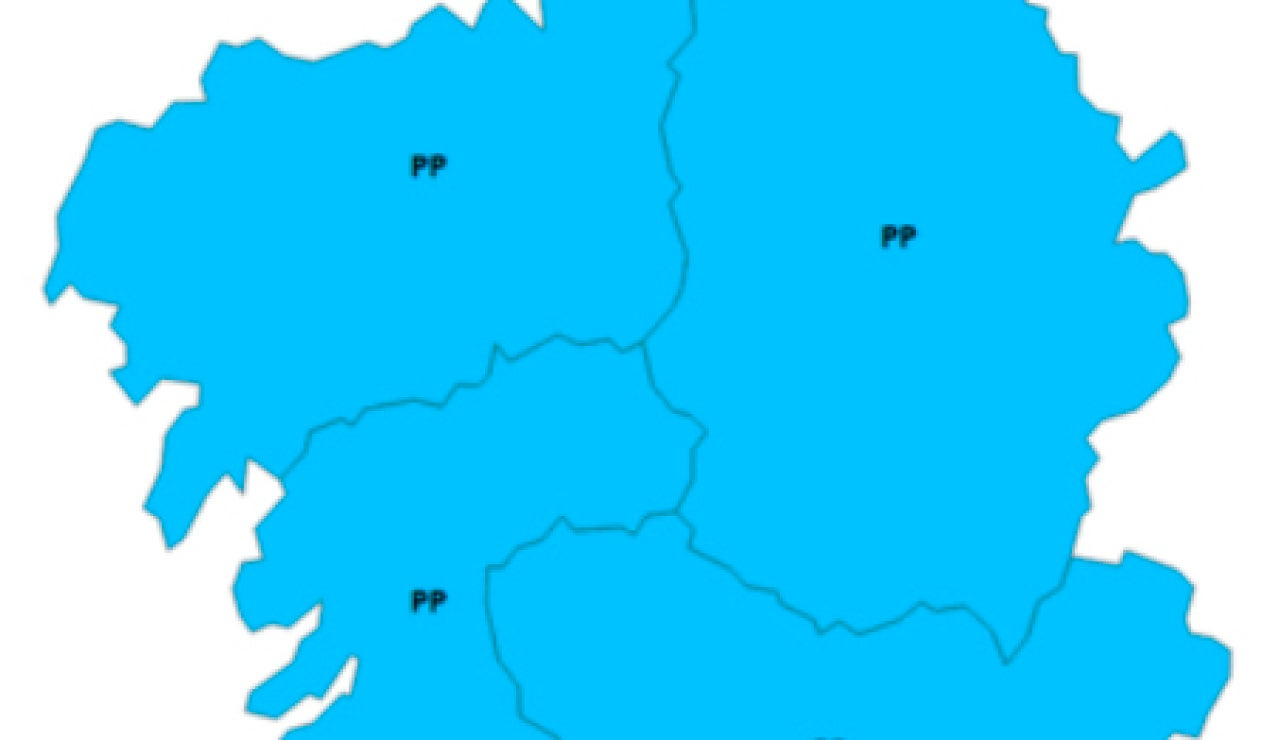 Mapa de Galicia. Coronavirus. Desescalada. Normalidad