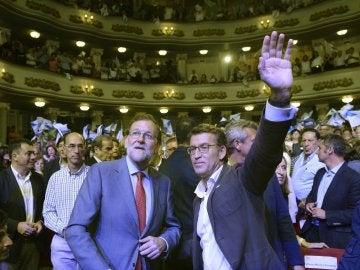 Cierre de campaña del PP en Galicia