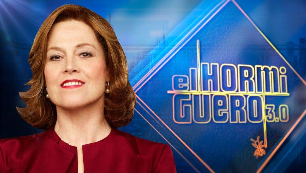 sigourney Weaver en 'El Hormiguero 3.0'