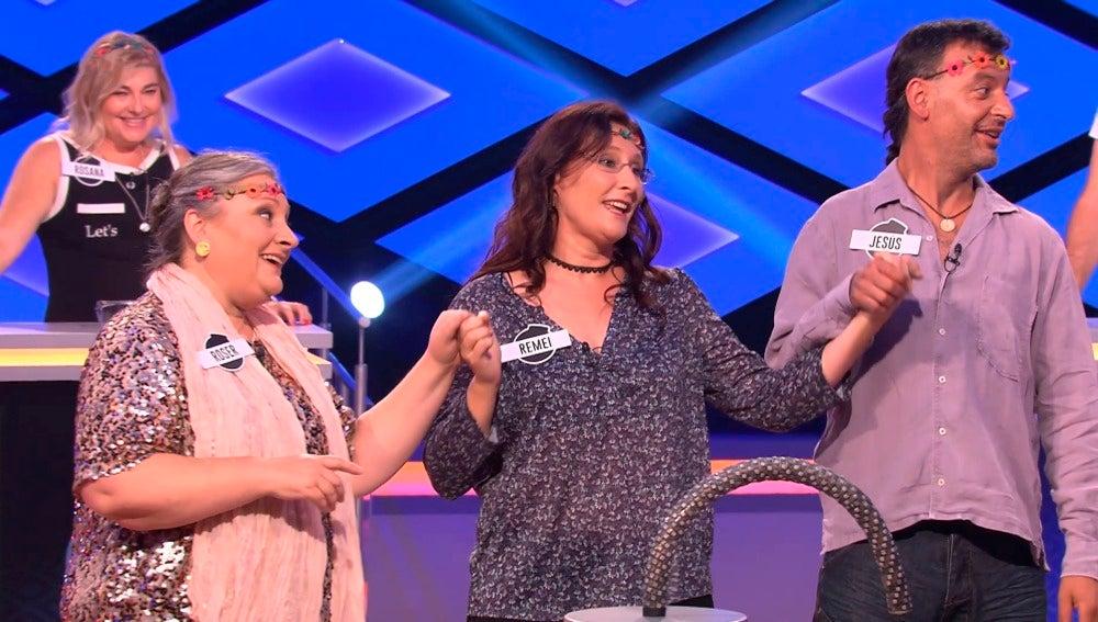 Los 'Comeflores' se despiden del programa con una canción