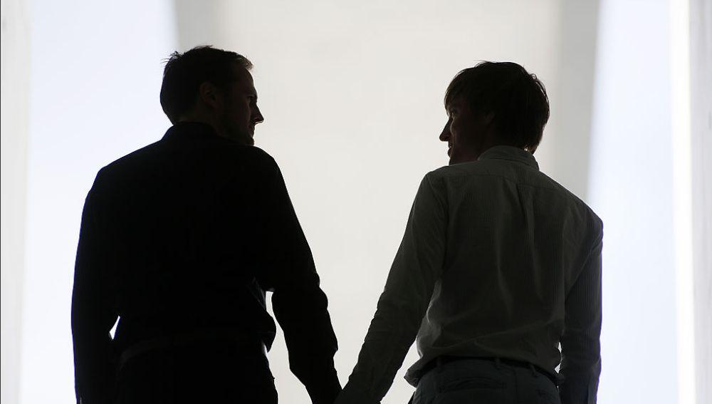 Una pareja homosexual