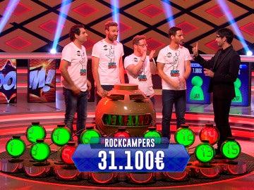 Los 'Rockcampers', campeones de campeones