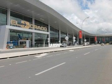 Aeropuerto El Dorado, en Bogotá