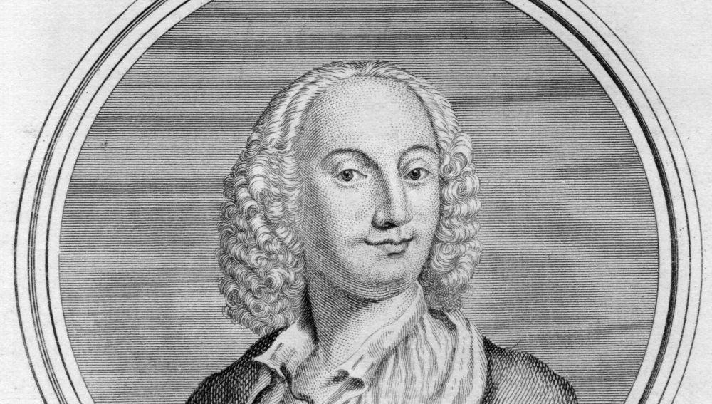 El violinista y compositor italiano Antonio Vivaldi