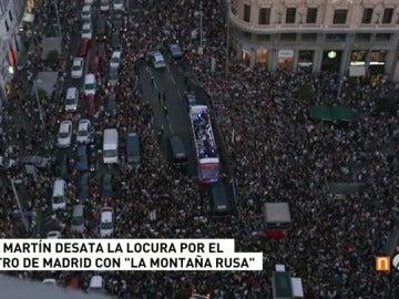 Dani Martín colapsa Madrid