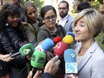 Pilar Zabala, candidata de Elkarrekin Podemos en País Vasco