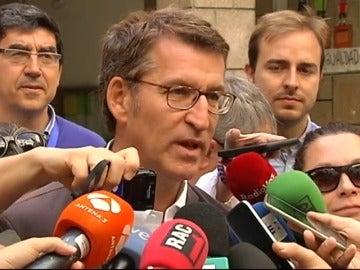 """Frame 5.390013 de: Feijóo llama a votar para que Galicia siga su """"camino de certidumbre y bienestar"""""""