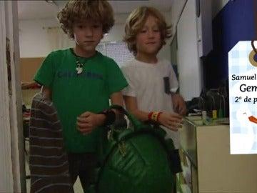 Frame 4.088761 de: En un pueblo de Madrid, hay hasta quince parejas de gemelos y mellizos en el mismo colegio