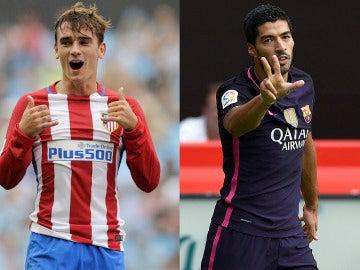 Griezmann y Suárez lideran el Pichichi con cinco goles