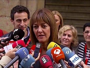 """Frame 2.990163 de: Idoia Mendia anima a los vascos a votar: """"Está en juego poder construir una Euskadi de oportunidades"""""""