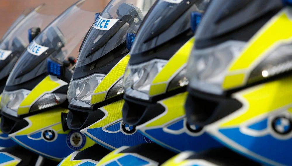 Policía Reino Unido