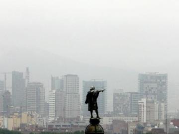 La estatua de Colón en Barcelona