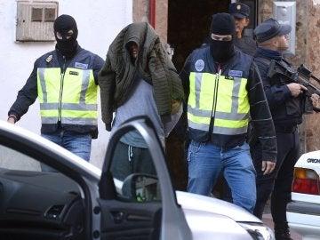 Imagen de la detención de un yihadista (Archivo)