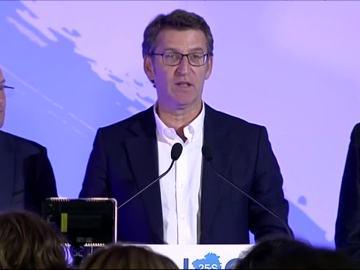 Alberto Núñez Feijóo, tras las elecciones del 25-S
