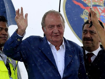 El Rey Juan Carlos llega a Cartagena