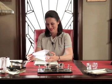 Doña Blanca en Aviones de papel