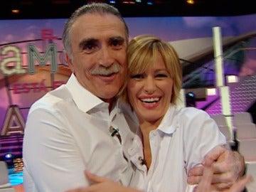 Juan y Medio junto a Susanna Griso