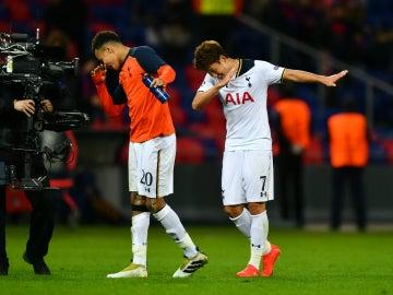 Son, feliz tras la victoria del Tottenham