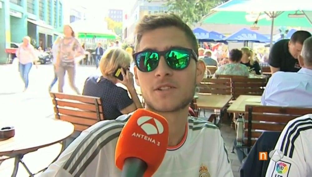 La afición del Real Madrid, en Alemania