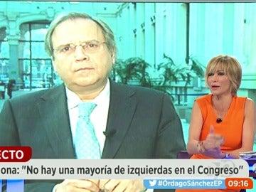 """Frame 710.119636 de: Antonio Carmona: """"Un Congreso 'express' me parece una falta de respeto, es un error del Secretario General"""""""